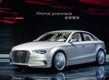 Audi A3 e-Tron Concept на автосалоне в Шанхае