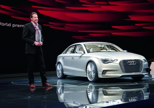 Audi привезла в Шанхай концепт A3 e-Tron