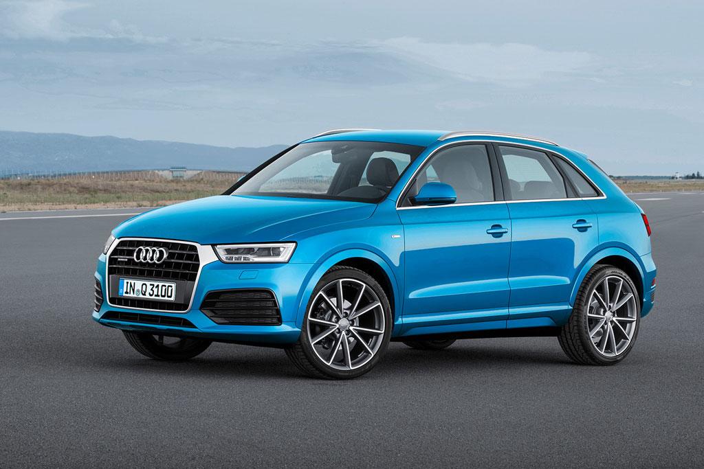 Обновленный Audi Q3 2015