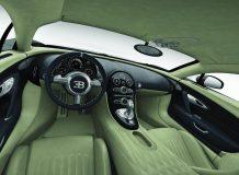 Интерьер особой версии Veyron 16.4 SuperSport