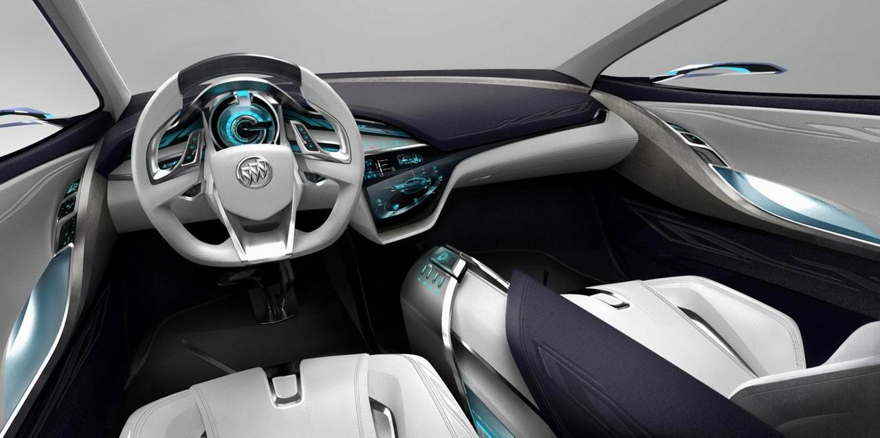 Фото салона Buick Envision