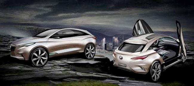 Buick Envision Concept покажут на автосалоне в Шанхае
