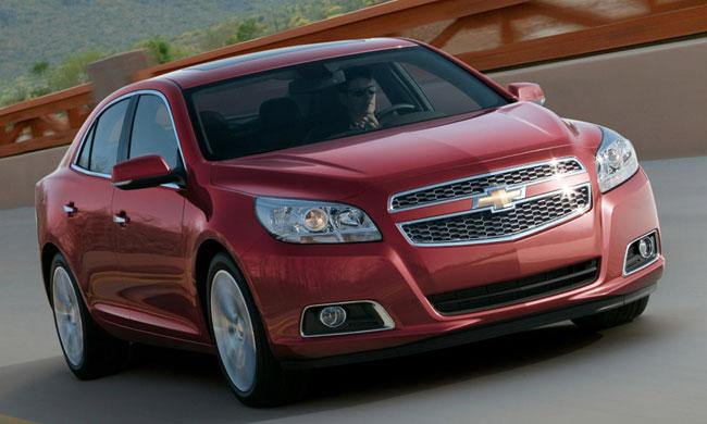 Первое фото нового Chevrolet Malibu