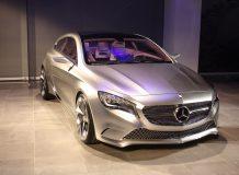 Mercedes Concept A-Class на автосалоне в Нью-Йорке