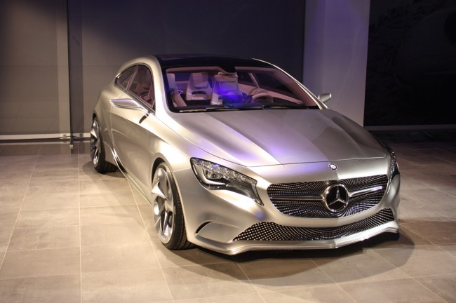 В Нью-Йорке Mercedes показал Cocnept A-class