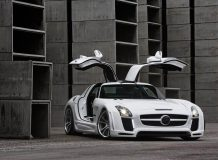 Тюнинг Mercedes-Benz SLS AMG фото