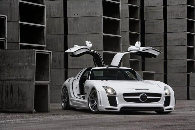 Mercedes SLS Gullstream от ателье FAB Design