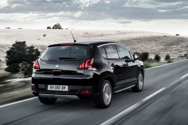 Обновленный Peugeot 3008 2014 года