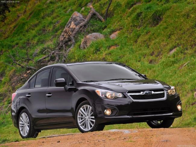 Седан Subaru Impreza 4 поколения