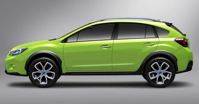 В Шанхае Subaru представила XV Concept