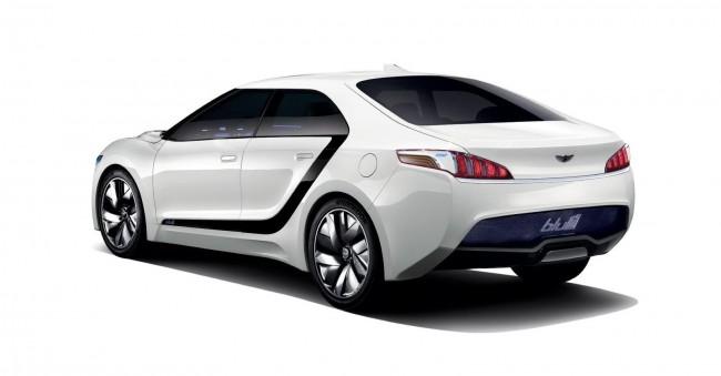 Hyundai подготовил водородный концепт Blue2