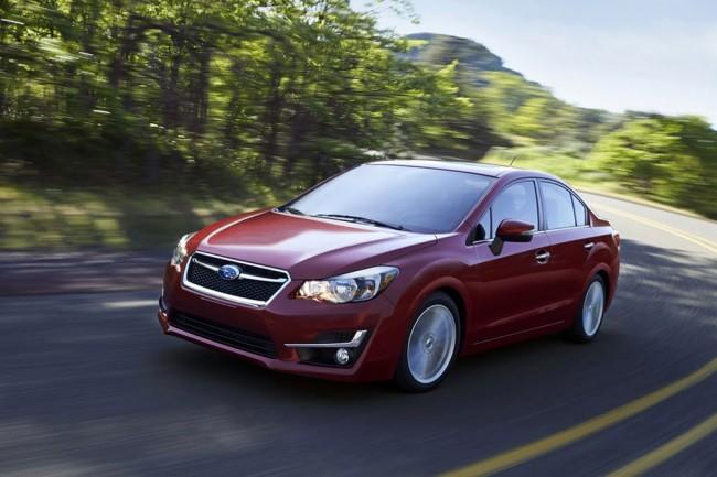 Обновленная Subaru Impreza 2015
