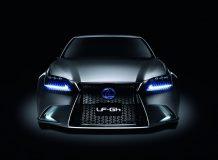 Первые фото Lexus LF-GH Concept