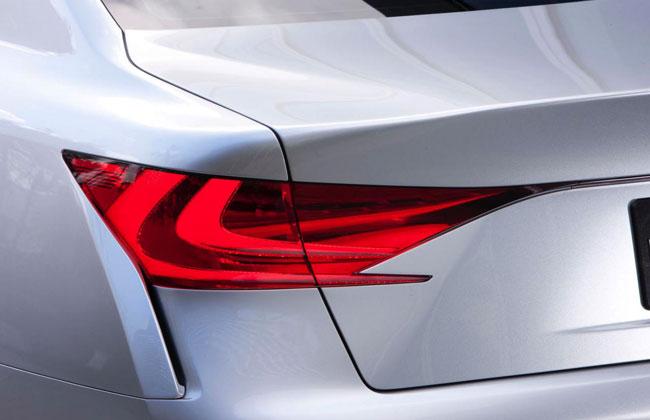 Первый тизер концепта Lexus LF-Gh