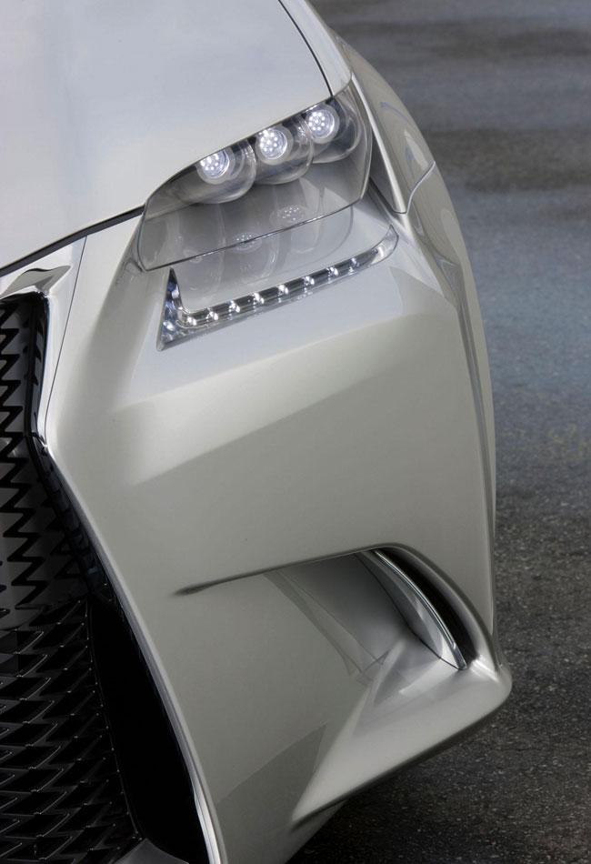 Второй тизер концепта Lexus LF-Gh
