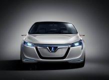 Электрический седан Luxgen Neora