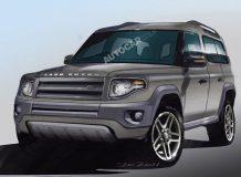 Так может выглядеть Land Rover Defender нового поколения