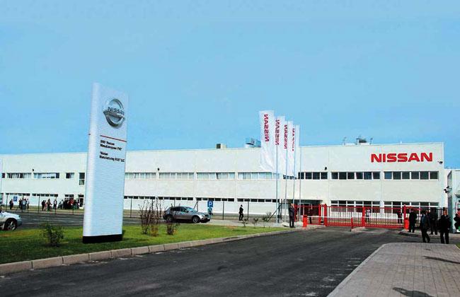 Российский завод Nissan приостановит работу на 5 дней