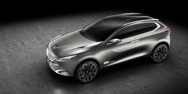 Концепт Peugeot SXC представлен до дебюта в Шанхае