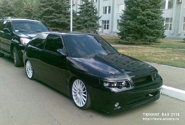 Тюнинг ВАЗ 2112 купе