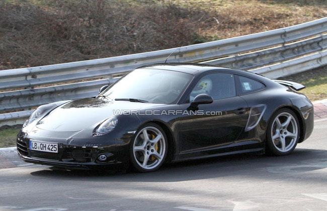 Шпионские фото 2012 Porsche 911
