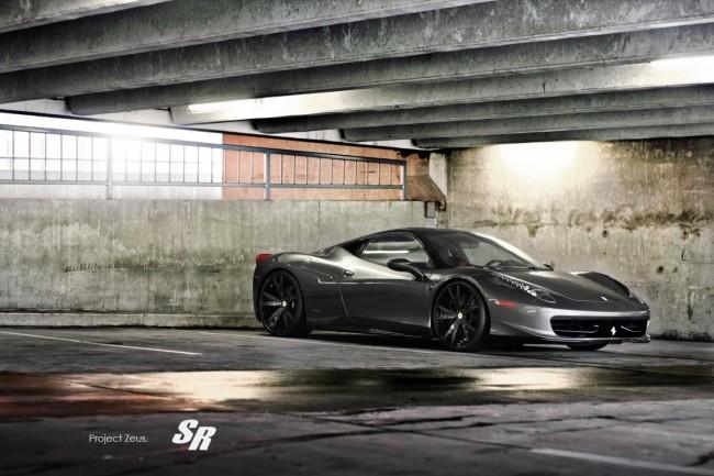 Тюнинг-пакет Zeus для суперкара Ferrari 458 Italia