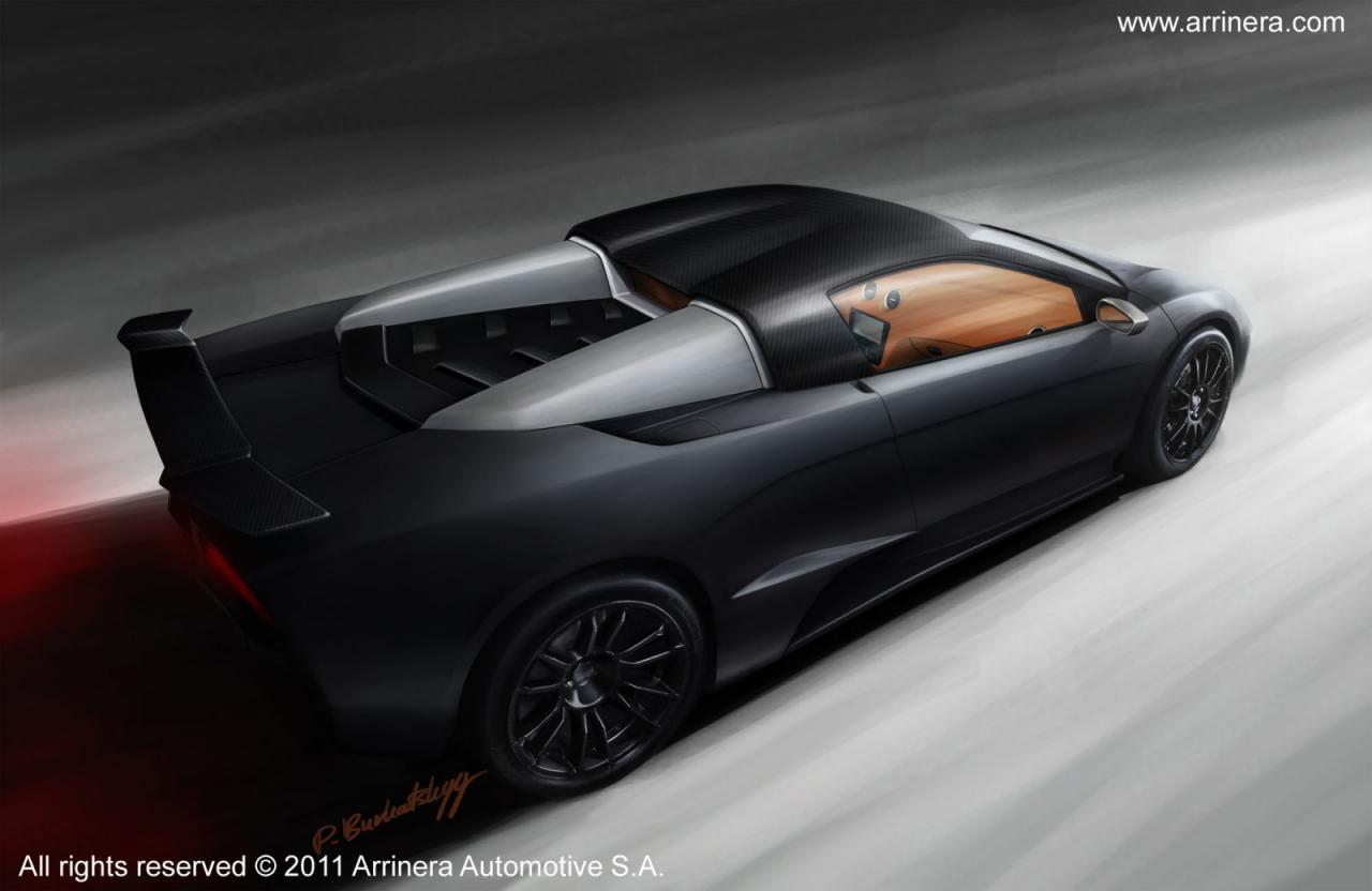 Изображение польского суперкара от Arrinera