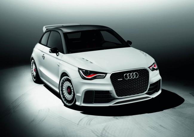 Audi A1 clubsport quattro для Worthersee Tour