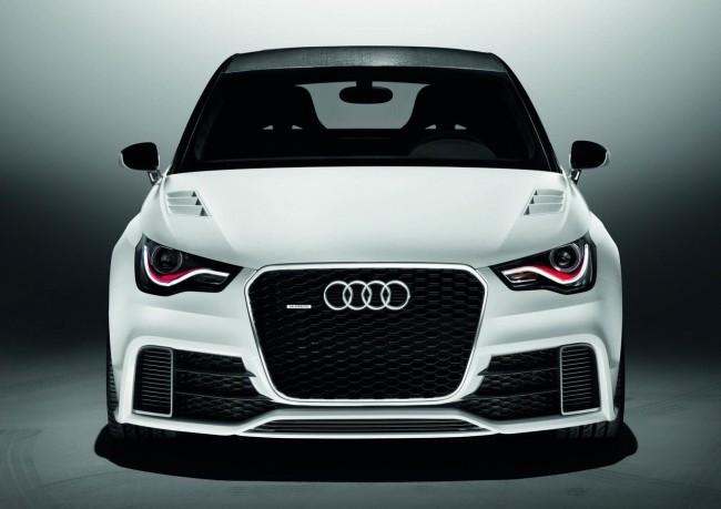 Экстремальный хэтчбек Audi A1 clubsport quattro