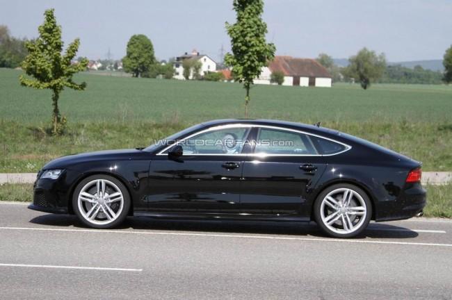 Новая 2012 Audi S7 шпионское фото