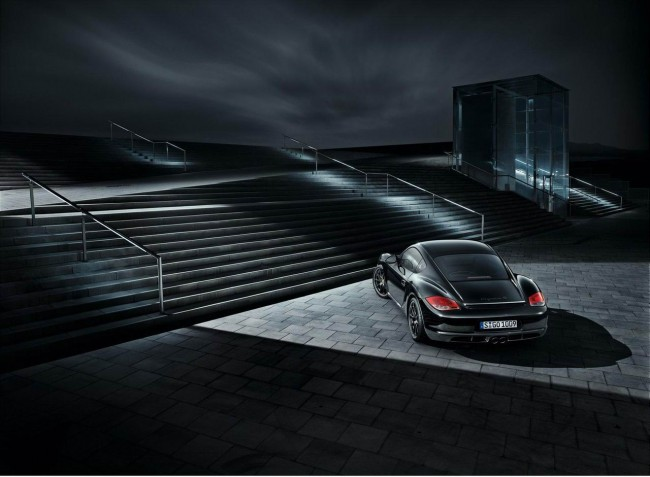 Porsche Cayman S получил версию Black Edition