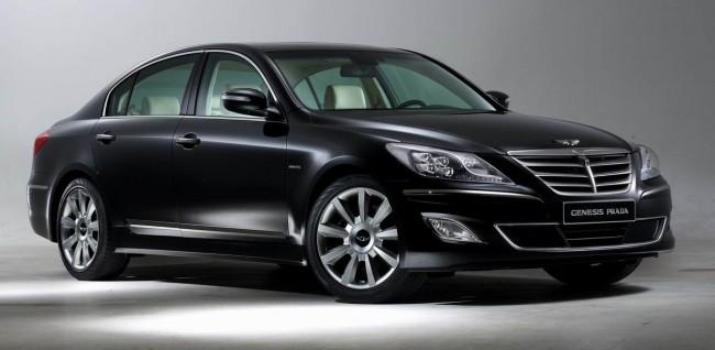 Hyundai и Prada создали роскошную версию седана Genesis