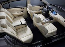 Интерьер Hyundai Genesis Prada