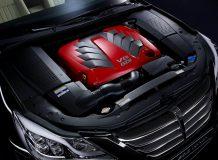 Двигатель V8 под капотом Genesis Prada