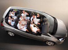 Интерьер Opel Zafira Tourer