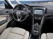 Салон Opel Zafira Tourer фото