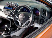 Интерьер заряженной Honda CR-Z Mugen