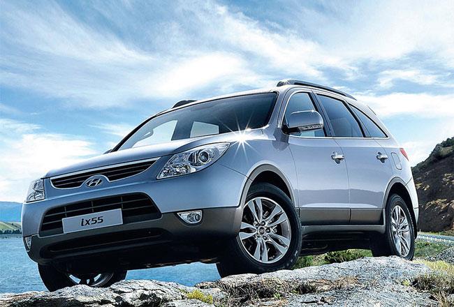 Hyundai ix55 получил две новых комплектации
