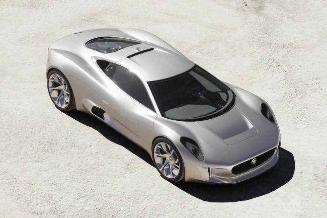 Jaguar C-X75 будет запущен в производство