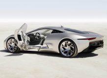 Суперкар Jaguar C-X75 фото