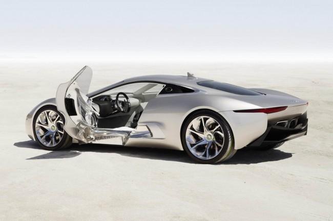 Jaguar C-X75 Hybrid Concept