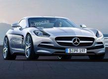 Изображение будущего Mercedes SLC