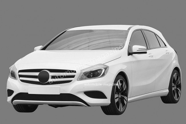 Первые изображения нового Mercedes A-Class