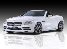 Тюнинг нового 2012 Mercedes SLK фото