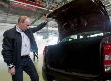 Путин оценил большой багажник Лады Гранта