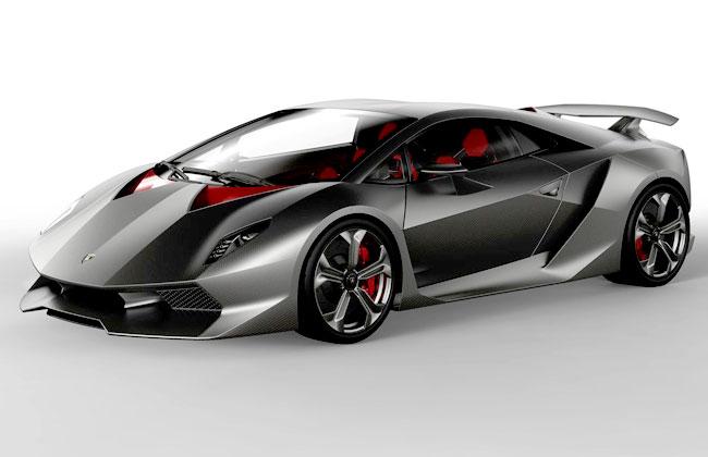 Суперкар Lamborghini Sesto Elemento фото