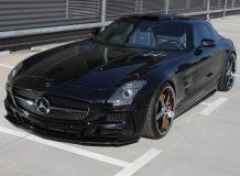 Тюнинг Mercedes SLS AMG от ателье MEC Design