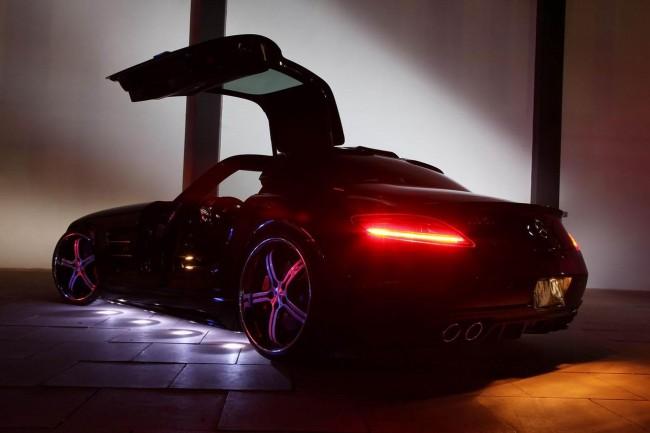 Mercedes SLS получил обвес от MEC Design