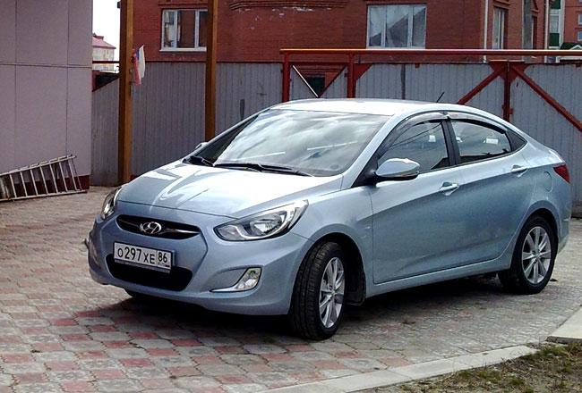 Hyundai обновил пакеты опция для седана Солярис