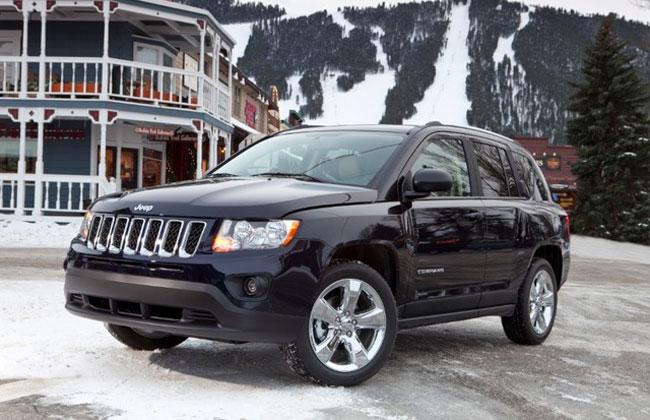 Объявлены цены на Jeep Compass 2011 в России